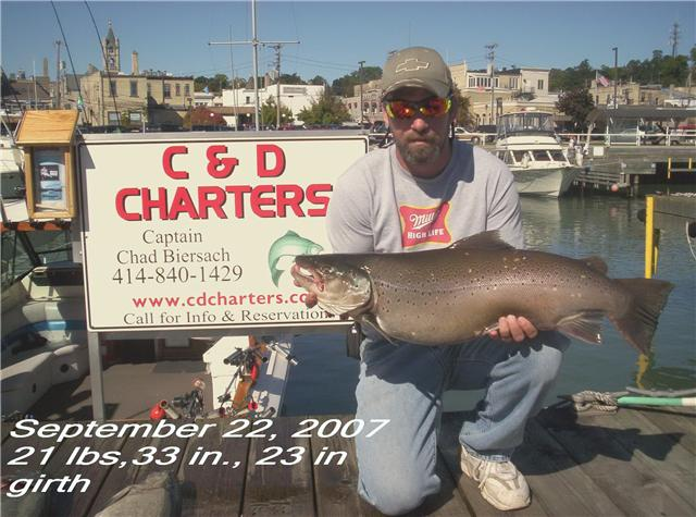 Big Brown Trout Testimonial 2007